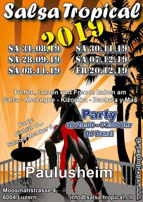 Salsa Tropical 2019 2 Semester Flyer A6 V02